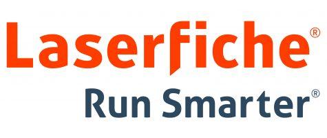 Laserfiche Run Smarter logo